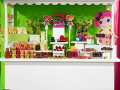 Adorable Lalaloopsy party! See more party ideas at CatchMyParty.com!  #partyideas #lalaloopsy