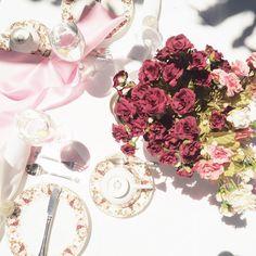 It's always (high) tea time! High Tea, Tea Time, Floral Wreath, Wreaths, Instagram Posts, Decor, Tea, Flower Crowns, Door Wreaths