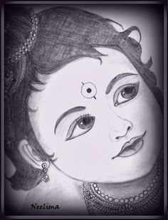 Pencil Sketches Of Baby Krishna - - Girl Drawing Sketches, Girly Drawings, Art Drawings For Kids, Art Drawings Sketches Simple, Tattoo Sketches, Nature Sketches Pencil, Pencil Sketches Easy, Realistic Drawings, Pencil Drawing Images