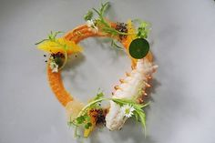 Rock lobster mousseline de Carrot Orange
