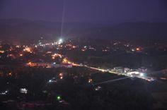 Night view of Thirthahalli