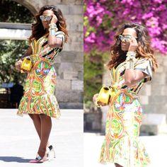 Angolan fashion blogger Soraya de Carvalho of 'Style is My Thing'.