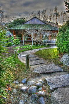 Japanese Garden, Toulouse, Midi-Pyrenees, France  www.gajolles.com