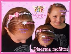 Easy Toddler Hairstyles, Little Girl Hairstyles, Ribbon Hairstyle, Hot Hair Styles, Braids For Kids, Everyday Hairstyles, Diana, Hair Beauty, Chic