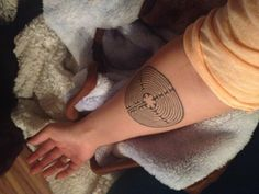The actual de Chartres / Notre Dame one I want!! *sigh* not as original as I believed myself to be -sh Labyrinth tattoo