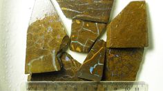 These are 7x big rough slabs of lower quality boulder opal from Queensland, Australia. The first image below is taken with the opal dry. Type Natural. All opals, pendants, jewellery etc are ground, sanded, polished and assembled in Melbourne Australia. | eBay!