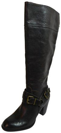 16ab404529770 Arturo Chiang Bown New Vala Leather Knee High Boots Booties Size US 6  Regular (