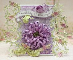 Heartfelt Creations | Lavender Enchanted Mum Card