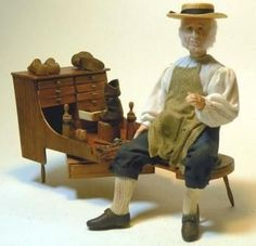 Shaker Style Miniatures - Contemporary Projects - Dolls House & Miniature Scene Magazine - Hobbies And Crafts