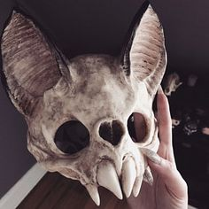 koffinxkandi added a photo of their purchase Fete Halloween, Scary Halloween, Monster Party, Skull Reference, Pose Reference, Character Inspiration, Character Design, Vampire Skull, Mascaras Halloween