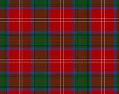 Chisholm Clan Tartan WR1475