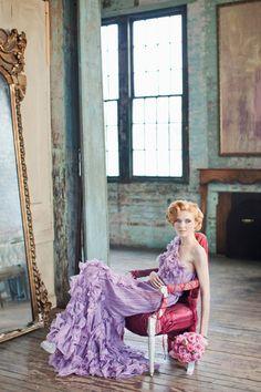 Tadashi Shoji #lavender #dress