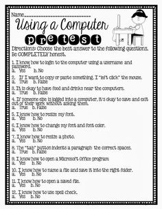 Printables Internet Safety Worksheets different types of technology and for kids on pinterest