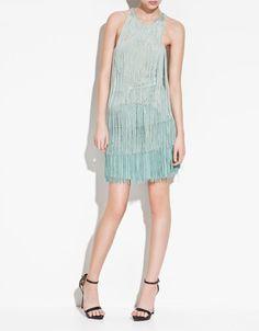 FRINGED DRESS - Dresses - TRF - ZARA United States $29.99