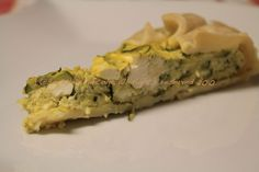 Sorelle in pentola: Quiche di zucchine, feta e menta.