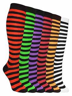 AATMart 6 Pairs Children Wool Blend Crew Socks Size 6M-2Y Boy Random Color