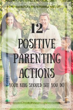 These 12 Positive Parenting Actions Your Kids Should See You Do are great tips to teach them how to handle daily life! #10 is so easy too!