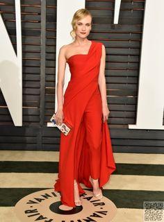 470bd61dd2c 11 Oscars after-Party Dresses You Have to See! ... Diane KrugerCape JumpsuitJumpsuitsAnya  ...