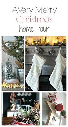 Christmas Home Tour Collage