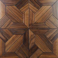 parquetry | Black Walnut Parquetry Tiles - Online Flooring & Decking