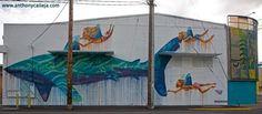 Honolulu Graffiti Art Honolulu's Kakaako District