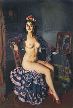 Ignacio Zuloaga - La Oterito, 1936
