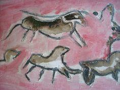 pinturas rupestres  laplasticaalescola.blogspot.com.es