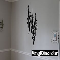 Tears through walls faces Ripped Wall Decal - Vinyl Decal - Car Decal - CD10047