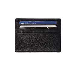 fc55a18725 Free shipping 100% brand New style Genuine cow leather card holder Fashion  Men leather card