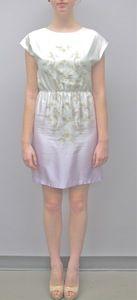 Sarah Stevenson Floral Degrade Cinch Dress
