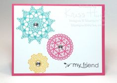 stampin up, delicate doilies, my friend, quick and easy cards, card ideas - http://stampwithkriss.com/delicate-doilies-and-my-friend