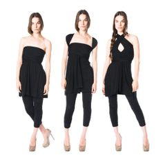 Single layer S2. The S is our best seller. Figure flattering, comfortable and flirty! Fantastic on every body type and for every occasion. On a date, on vacation, throughout your entire pregnancy. And the reversible version doubles the amount of ways you can wear it! *Requires a strapless bra or no bra *Fits sizes 0-12 *Terrific for travel *Perfect for pregnancy *Brilliant for bridesmaids *Machine washable *Made in California.  *$90