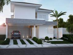 Residência FRFS - Villaggio II by Arq. Pâmela Corrêa, via Behance