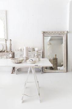 Alabaster Trader Store. White, ethnic interiors. Photography @villastyling