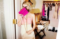 Emma Roberts Dishes On Her Favorite Accessories For Fall #refinery29  http://www.refinery29.com/2014/07/71963/emma-roberts-jimmy-choo-photo-diary#slide5