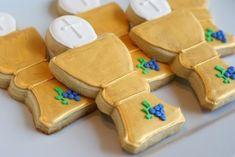 Galletas para una primera comunión, de Bake at 350 / First communion cookies, from Bake at 350