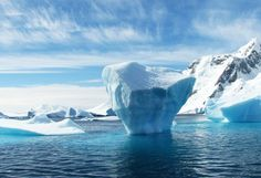 A vast iceberg with twice the volume of Lake Erie has broken off from a key ice shelf in Antarctica, scientists said Wednesday. The iceberg broke off from