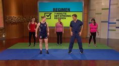 Alev Kelter's 7-Minute Regimen Workout: U.S. Olympic athlete Alev Kelter demonstrates how to do butt kicks, Frankensteins, crossovers, scorpions, and high knee karaokes. Try these equipment-free moves in your daily fitness routine.