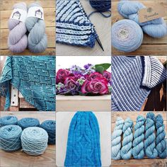 April was all about new yarn new ideas test knitting and lots of brioche. It also included a lot of waiting.  Now that May has arrived the waiting is nearly over and action can begin
