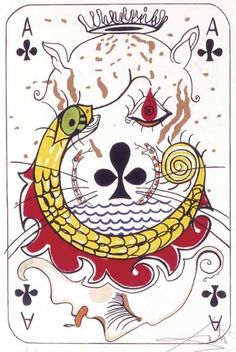 Aces . 1972   artiste  - Salvador Dali
