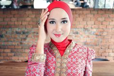 tutorial hijab formal by dian pelangi