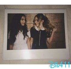 """Sabrina Carpenter and Rowan Blanchard from """"Girl Meets World"""" have a nice friendship onscreen and off.  With this adorable photo of the two of them togeth"""