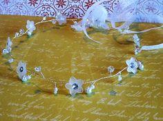Weiteres - filigranes Haarband Haarkranz Braut Haarschmuck - ein Designerstück von Petras-Welt bei DaWanda