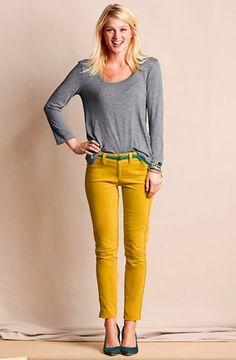 b31be79ec2c Women s Super Skinny Velvet Pants from Lands  End