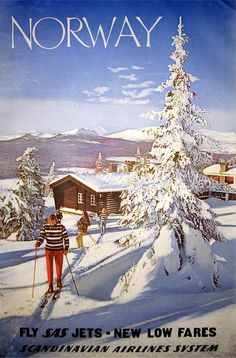 Norway -- tickets in early 1960s were 800.dollars per person. even for a baby. This is why many Norwegians who came to the USA after Hitler :*-(( - they were unable to return with family and spouse until money was saved. THEN you could buy a HOUSE for 11,000.00 -- so imagine a family of 5 going to Norway was close to 5,000. dollars. Lots of homesickness... and the reason community was so important. Thanks SAS, for costing a fortune ;-)  FLY  SAS JETS - NEW LOW FARES