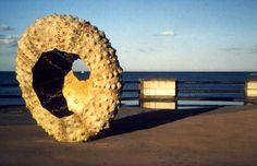 """Mothership"" sea urchin ish scultpture by Rachel Joynt. Sandycove, Co. Sea Urchin, Dublin, Ireland, Europe, Art, Art Background, Kunst, Irish, Performing Arts"