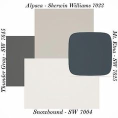 Alpaca paint color SW 7022 by Sherwin-Williams. View interior and exterior paint colors and c… Alpaca paint color SW 7022 by Sherwin-Williams. View interior and exterior paint colors and color palettes. Get design inspiration for painting projects. Exterior Paint Colors For House, Interior Paint Colors, Paint Colors For Home, Exterior Colors, Interior Design, Interior Painting, Fixer Upper Living Room, House Paint Color Combination, Image Deco