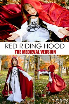 Red Riding Hood Costume - The Medieval Version - Tidbits
