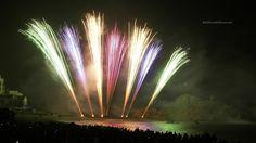 International Fireworks Competition. Maria Angustias. Blanes Fireworks 2014