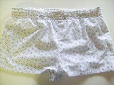 Adventures in Dressmaking: Simple shirred waist pajama short tutorial